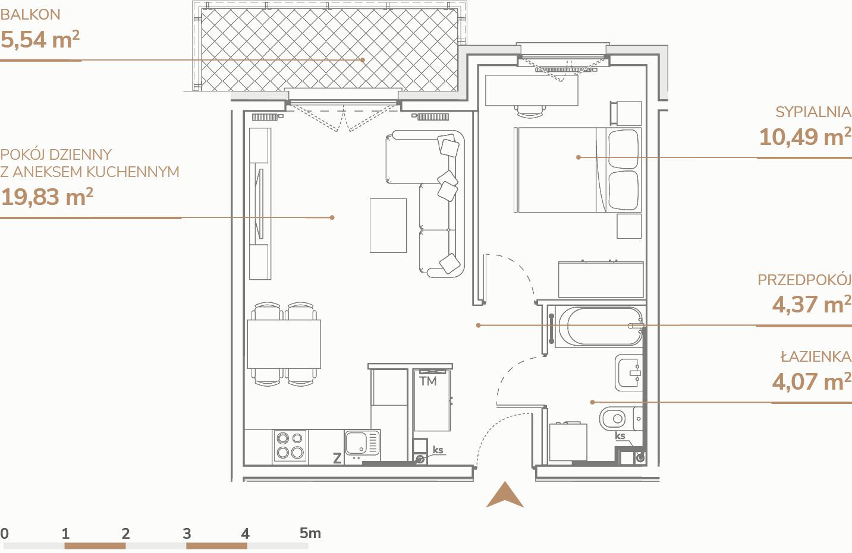 Mieszkanie B1.1.3