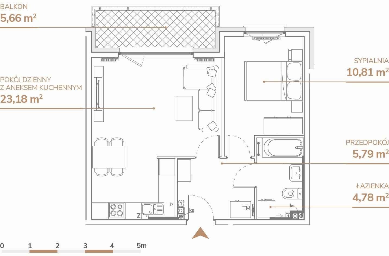 Mieszkanie B1.1.4