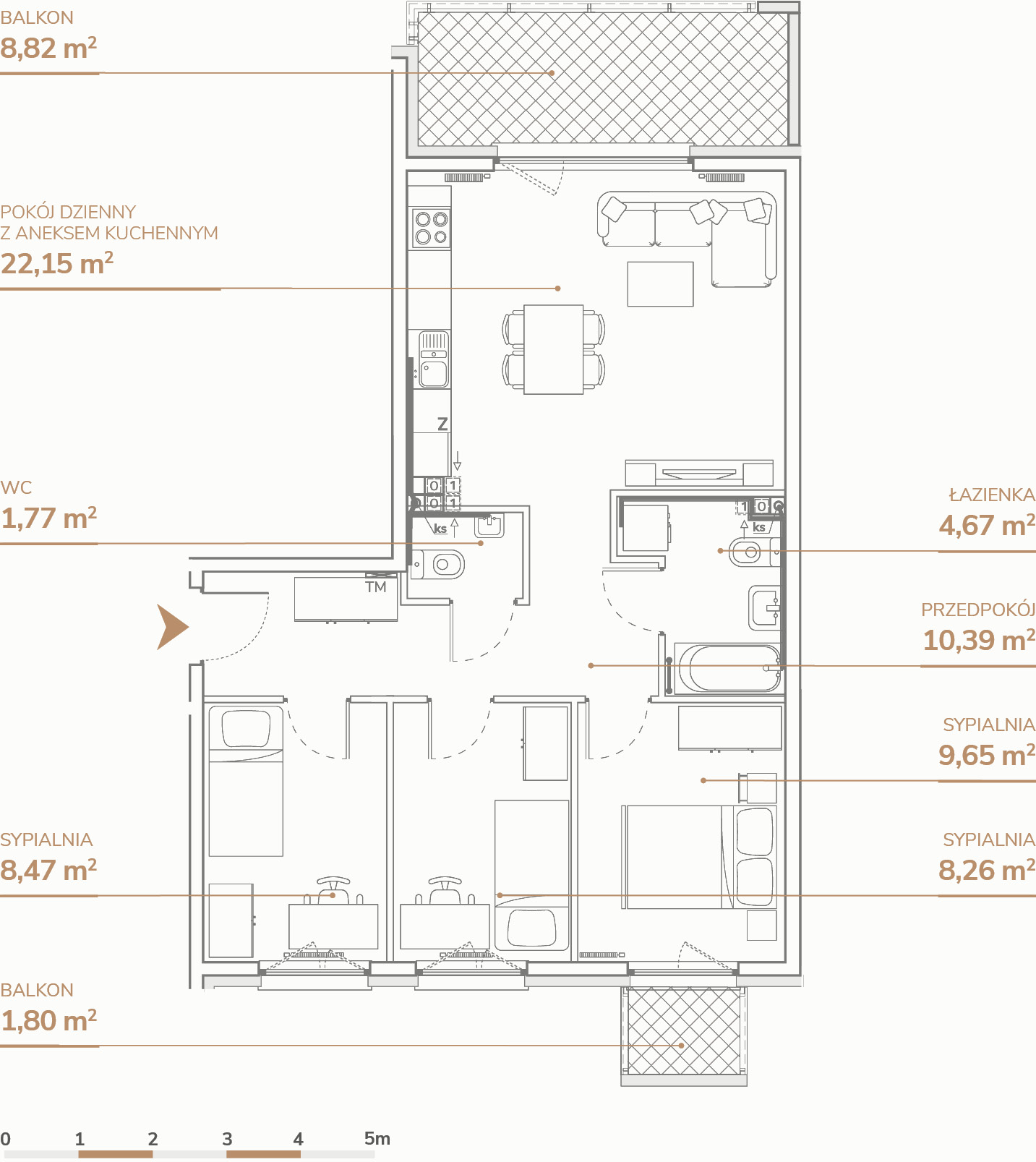 Mieszkanie B1.1.5