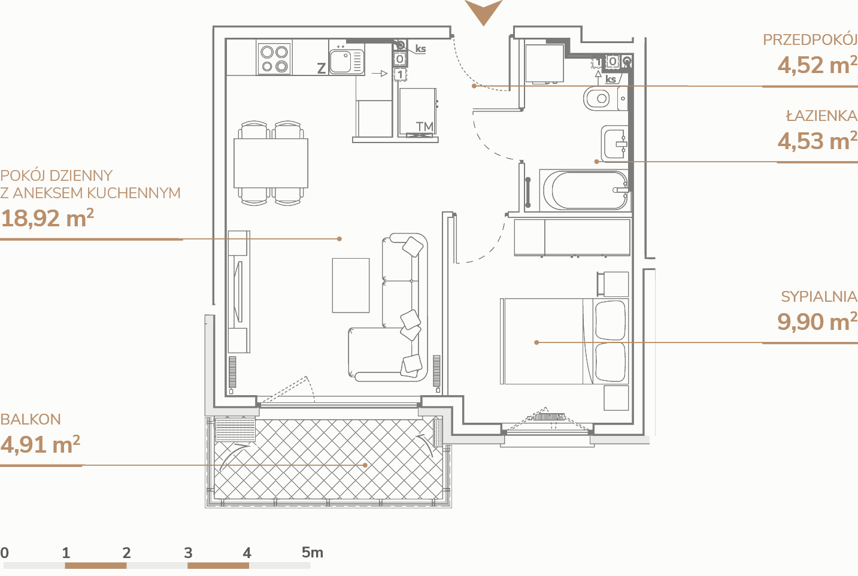 Mieszkanie B1.1.6