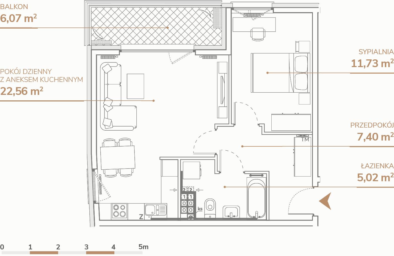 Mieszkanie B1.2.2
