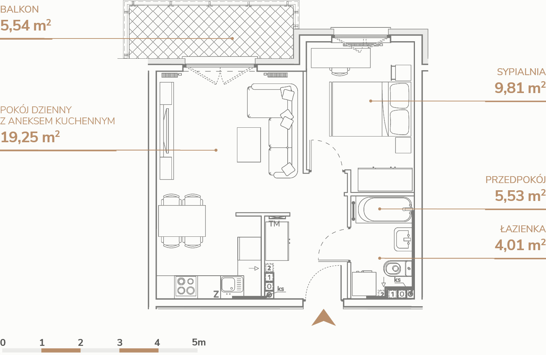 Mieszkanie B1.2.3