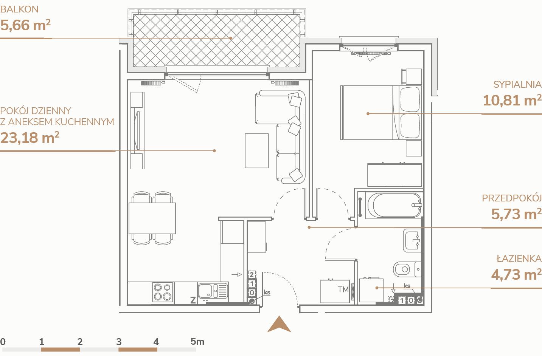Mieszkanie B1.2.4
