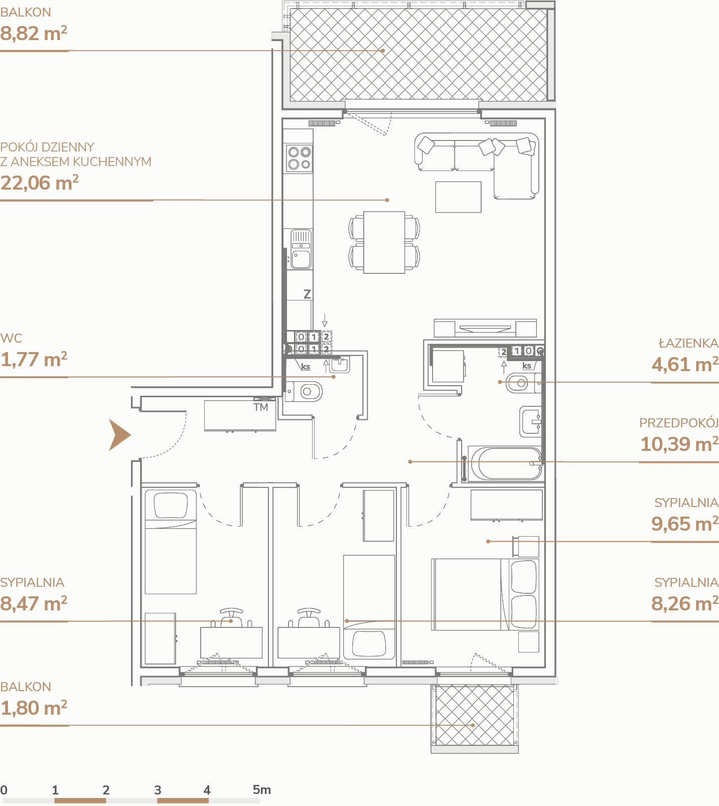 Mieszkanie B1.2.5