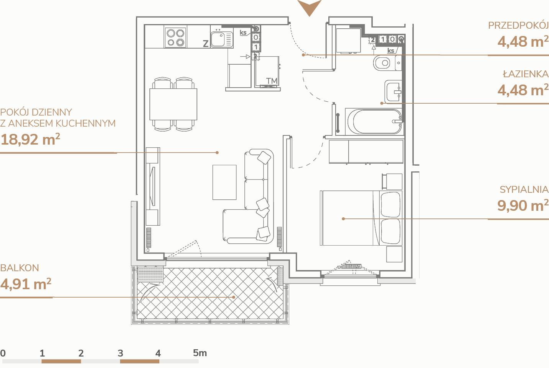 Mieszkanie B1.2.6