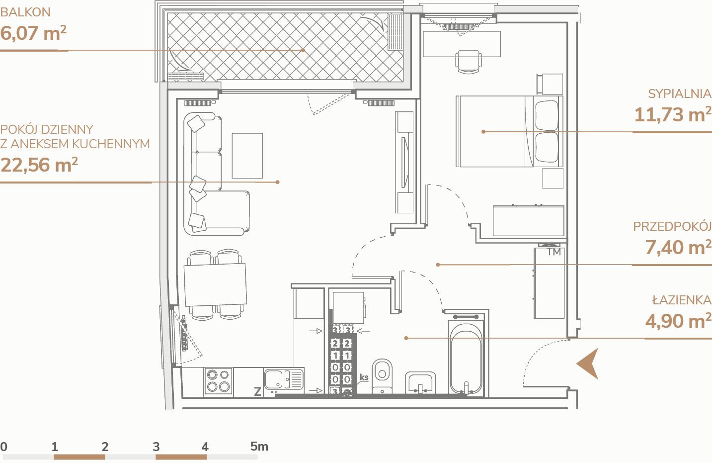 Mieszkanie B1.3.2