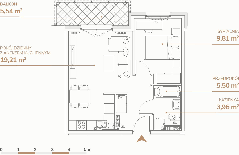 Mieszkanie B1.3.3