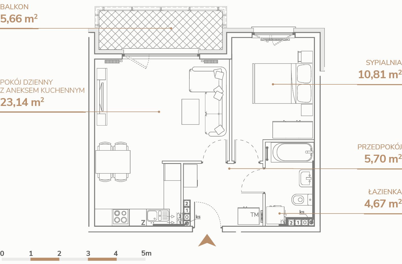 Mieszkanie B1.3.4