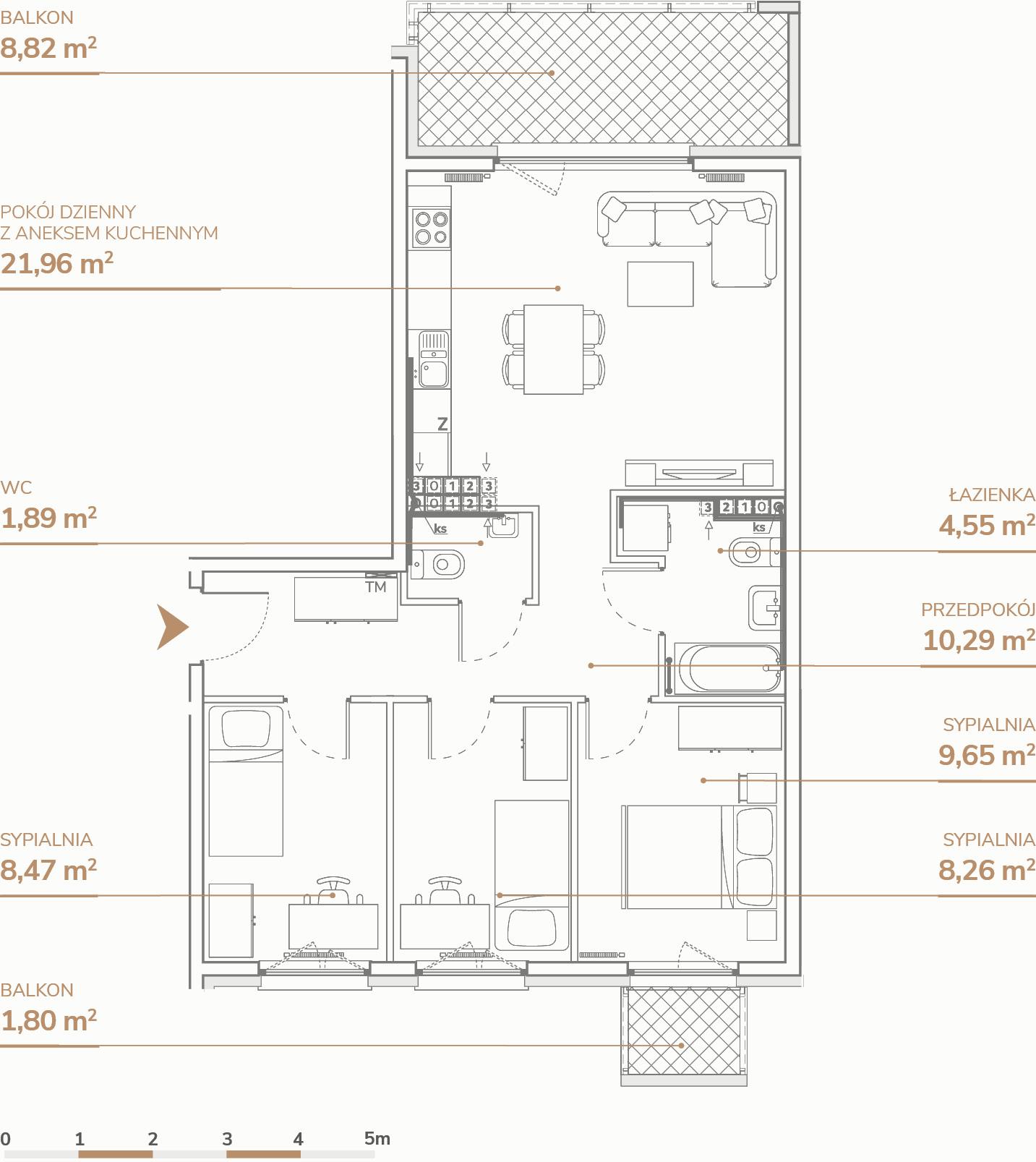 Mieszkanie B1.3.5