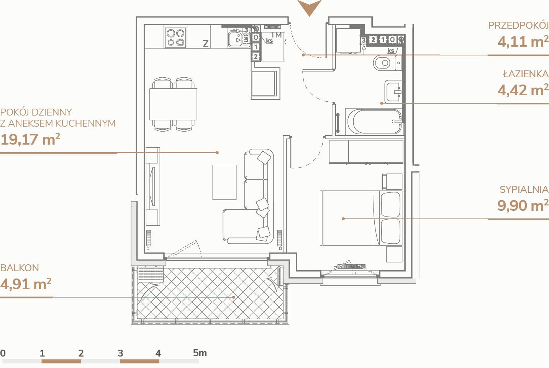 Mieszkanie B1.3.6