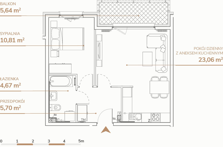 Mieszkanie B1.3.8