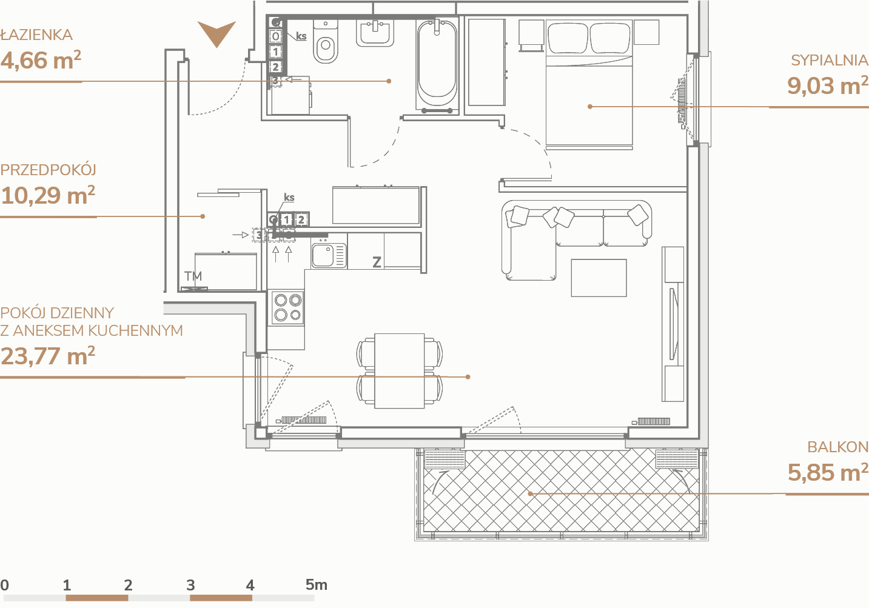 Mieszkanie B1.3.10