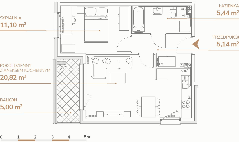 Mieszkanie B2.1.1