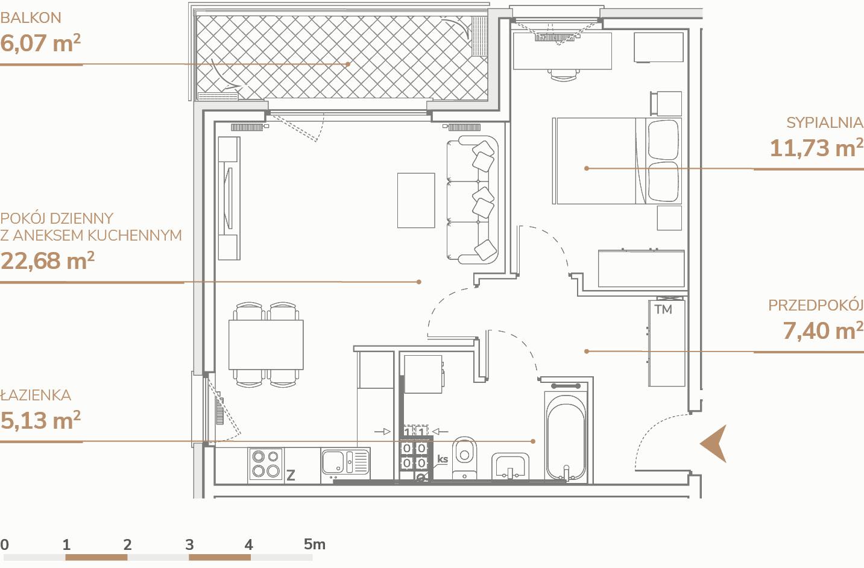 Mieszkanie B2.1.2