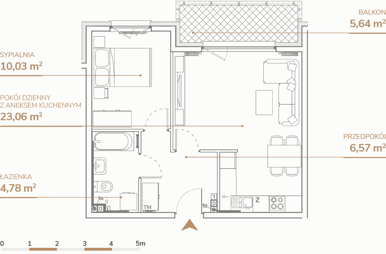 Mieszkanie B2.1.6