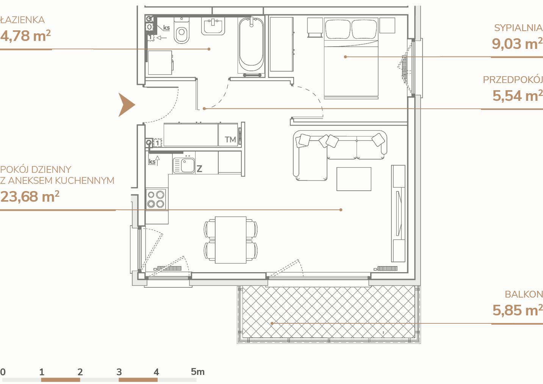 Mieszkanie B2.1.8