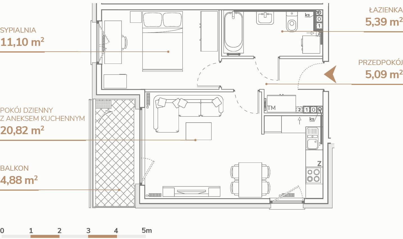 Mieszkanie B2.2.1