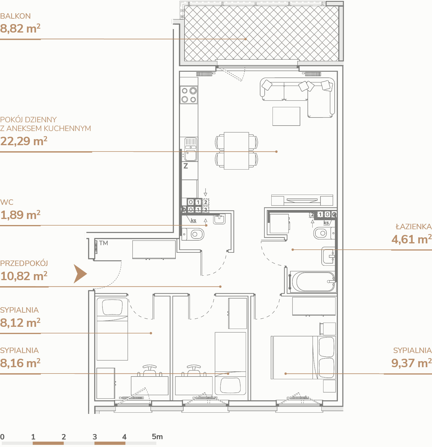 Mieszkanie B2.2.4