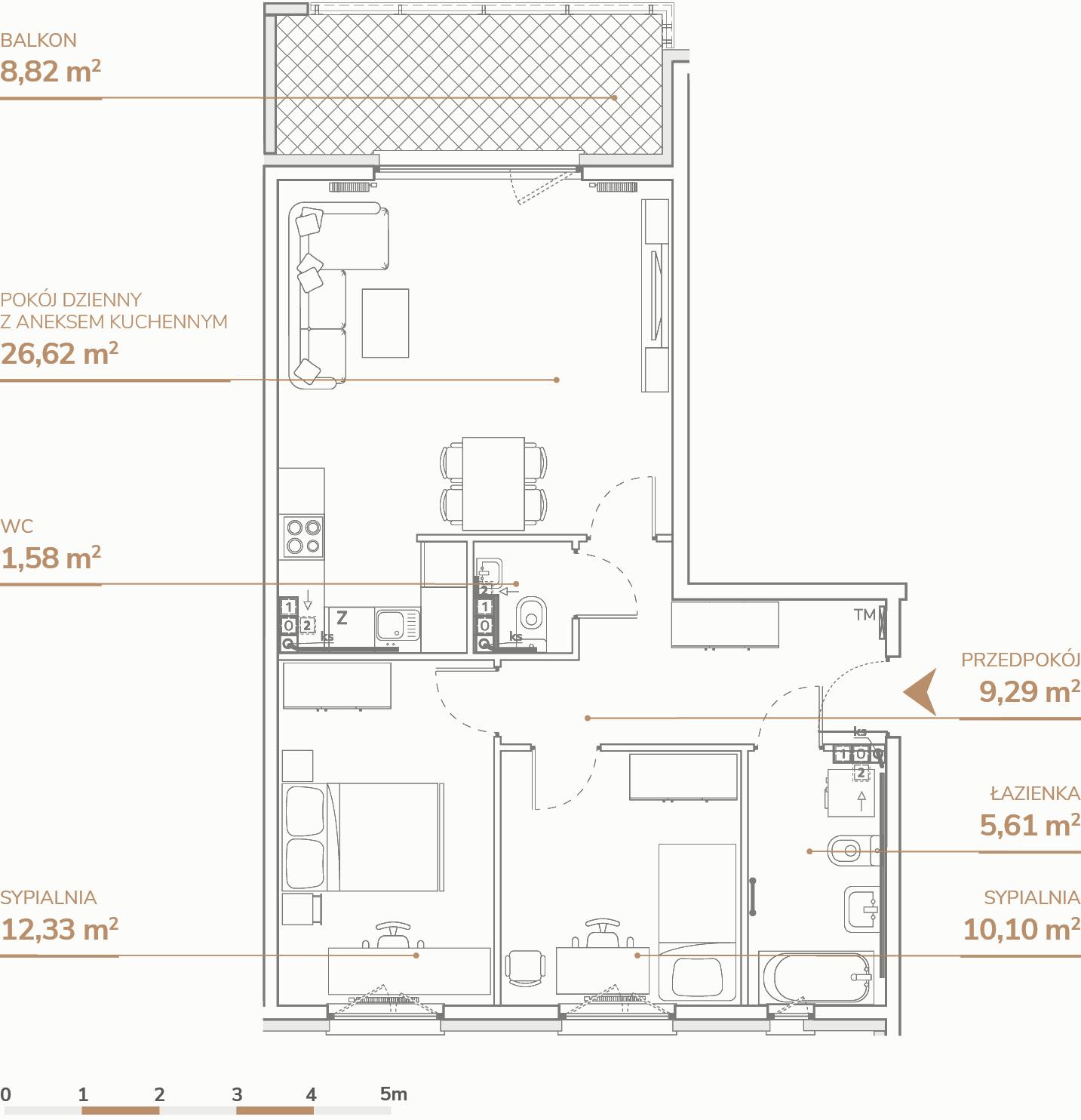 Mieszkanie B2.2.5