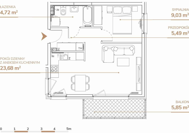 Mieszkanie B2.2.8