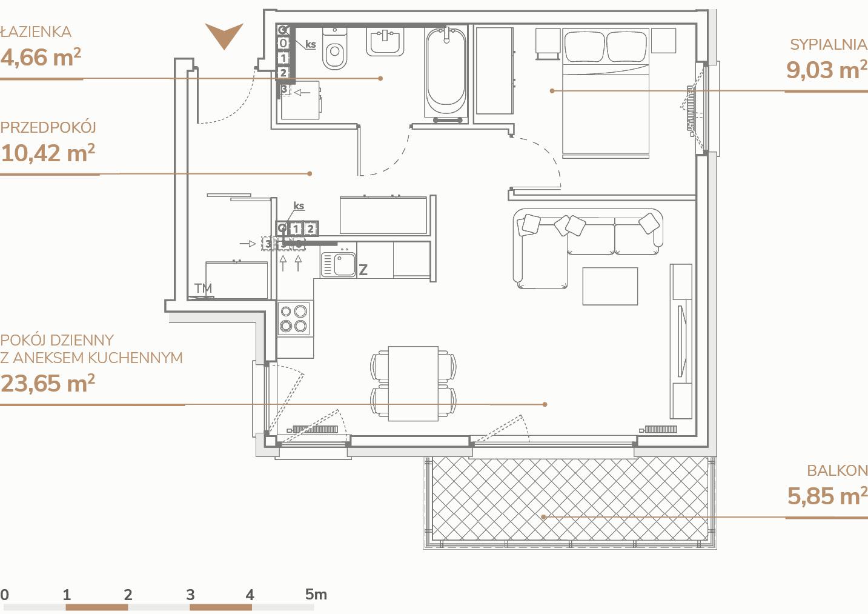 Mieszkanie B2.3.8